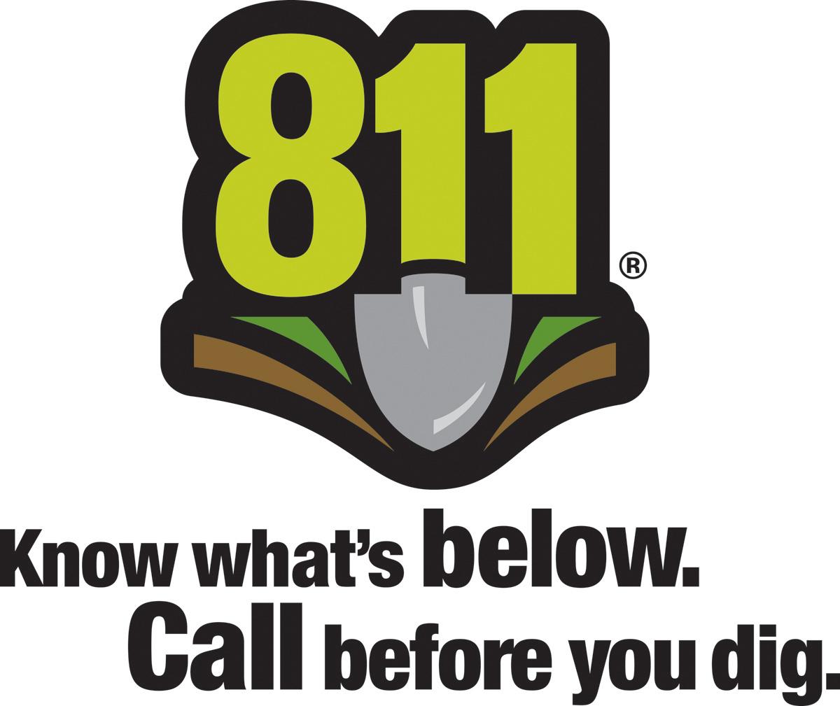 Call 811 Logo